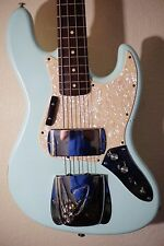 MJT JAZZ PRECISION BASS FENDER PICKUPS USA WARMOTH NECK Road Worn Relic'd