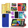 For Google Pixel 4 4 XL 3A  3A XL Flip PU Leather Wallet Stand Phone Case Cover