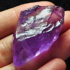 99.9CT 100% Natural Deep Purple Amethyst Facet Rough Specimen YDAg1273