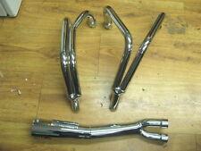 RARE NOS MAC Racers Choice Chrome 4 into 2 into 1 Exhaust 79 Honda CB750 CB 750