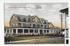 Vintage Postcard Wilmington Vermont Childs Tavern VT