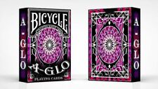 Bicycle A Glo Playing Cards (Red) Poker Spielkarten
