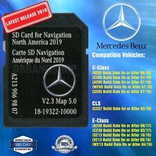 2019 Mercedes-Benz C CLS E Class SD Card Navigation A2139069807 NTG5.5 V2.3 MAP5