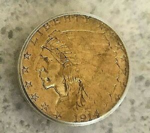 1914 D $2.50 Indian ICG MS 61