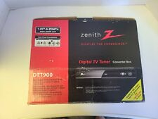 Zenith DTT900 Digital TV Tuner Converter Box w/Cables, Remote, Pre-owned
