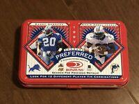 1997 Donruss Preferred Football Empty Tin - Barry Sanders - Detroit Lions