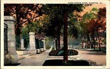 1930'S. RIDGE AVE. EVANSTON, ILL. POSTCARD ZT4