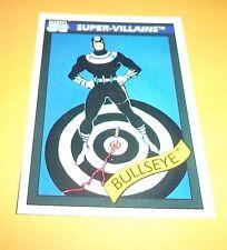 Bullseye # 64 - 1990 Marvel Universe Series 1 Base Impel Trading Card