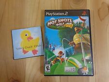 PS2 Hot Shots Golf Fore Sony PlayStation 2 2004 Online Broadband Only Rated E