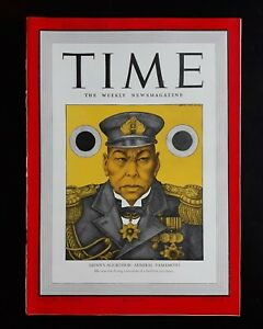 Arthur Szyk WWII Pearl Harbor Cover Art Time Magazine 12/22 1941 Full Issue