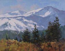 George William Bates Rocky Mountain Landscape Oil Painting CSMA FCA 1930-2009