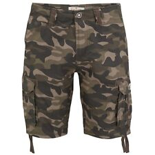 Mens Cargo Shorts Stallion New Work Camouflage Casual Cotton Army Camo Combat