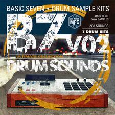Basic Seven Drum Sounds v.02   CD WAV Audio