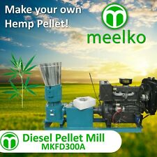 PELLET MILL FOR HEMP - MKFD300A
