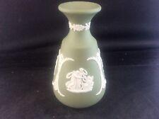 Wedgwood Green Jasper Ware Vase Classical Scenes Angels pegasus Horse Angel