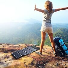 Solar Charger Power 24W Solar Pannel Triple USB Ports Portable High Efficiency