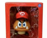 """Goomba With Hat Action Figure Super Mario Bros. Figure Toy 4"""" US Seller"""
