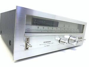 Pioneer TX-7800 Am/Fm Stereo Analogue Tuner Spec Vintage 1979 Hi End Good Look