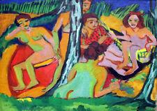 Ernst Ludwig Kirchner: Bathers. Fine Art Print/Poster