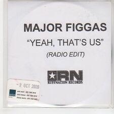(GH60) Major Figgas, Yeah, That's Us - 2000 DJ CD