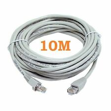 10M METERS ETHERNET CABLE CAT CAT5 5 CABLE RJ45 PATCH NETWORK LEAD 10 METER NEW