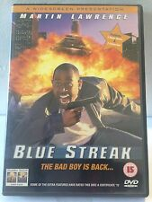 BLUE STREAK - THE BAD BOY IS BACK - MARTIN LAWRENCE (R2 - LIKE NEW) - DVD #208