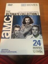 The Ultimate Collection I (DVD) BRAND NEW...AMC, 24 movies, 12 DVD's...shelf