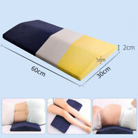 Lumbar Support Wedge Pillow Memory Foam Bed Sleeping Pillow Cushion Pain Relief