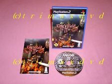 PS2 _ King's Field IV (4) _ Erstausgabe Sehr guter Zustand _ Kings Field IV