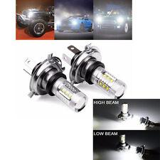 2Pcs 80W Weiß H4 9003 HB2 LED Nebel Glühlampe 1500LM High/Low Beam Scheinwerfer