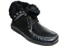 ORIGINAL GHURKA COLLECTION Mens Boots Sheepskin Leather Black Size 7.5