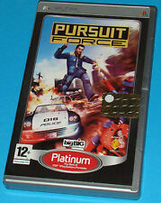 Pursuit Force - Sony PSP - PAL