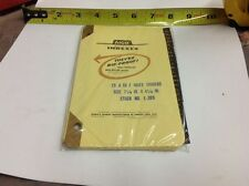 """AICO Memo Index Leather Tabs A-Z L205 7-1/4"""" x 4-1/4"""" Side Punch - New Old Stock"""