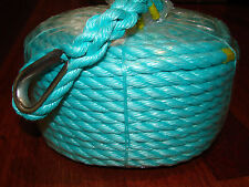 12mm x 50m Anchor Rope, Mooring etc STRONG 2212Kg *NEW*FLAT $16 POSTAGE