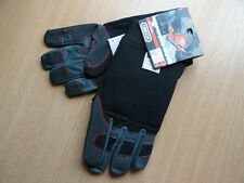 GENUINE FIORDLAND OREGON SAFETY CHAINSAW GLOVES - XL - stretch & leather gloves