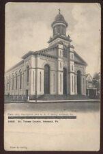 Postcard ARCHIBALD Pennsylvania/PA  St Thomas Catholic Church view 1906