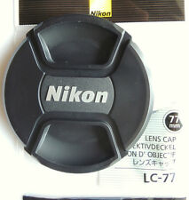 Nikon LC-77 77mm Lens Cap for Nikon Lenses  with 77mm filter size Genuine