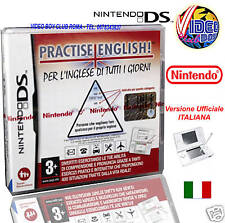 PRACTISE ENGLISH NUOVO VER ITALIANA NINTENDO DS DSL NDS