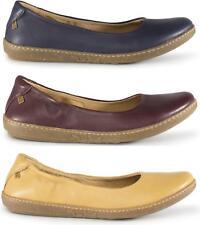 El Naturalista N5300 CORAL Ladies Womens Leather Ballerina Pumps Flats Shoes
