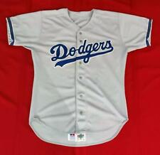 Los Angeles Dodgers Blank Russell Athletic Game Worn Road Jersey Size 44