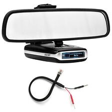 Mirror Mount Bracket + Mirror Wire Power Cord for Escort Max Max2