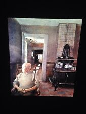 "Andrew Wyeth ""Erickson 1973"" American Regionalism Realism Art 35mm Slide"