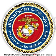 US MARINE CORPS Seal USMC United States MARINES USA American Vinyl Decal Sticker