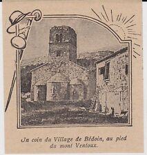 1906  --  UN COIN DU VILAGE DE BEDOIN   3H113