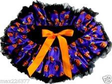 New Halloween tutu pettiskirt pumpkin black purple skirt costume girl 4 - 7