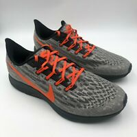 Nike Air Zoom Pegasus 36 Oklahoma State OSU Grey Orange CI2074-001, Men's 13 M