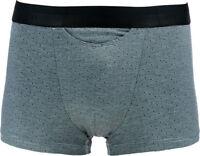 HOM Boxer HO1 Design 400705 Men's Boxer Briefs Comfort Pattern Dots Black/White