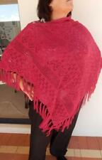 Knitted Poncho Cape Shawl Jumper Plus size Ladies 18 20 22 24