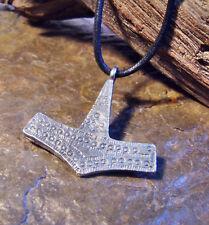 Museums Replik Wikinger Amulett Medallion Anhänger Thors Hammer A.D. 800 - 1050