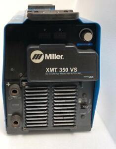 MILLER XMT 350 VS DC INVERTER ARC WELDER WITH AUTO-LINE 208-575V (FOR PARTS) 1